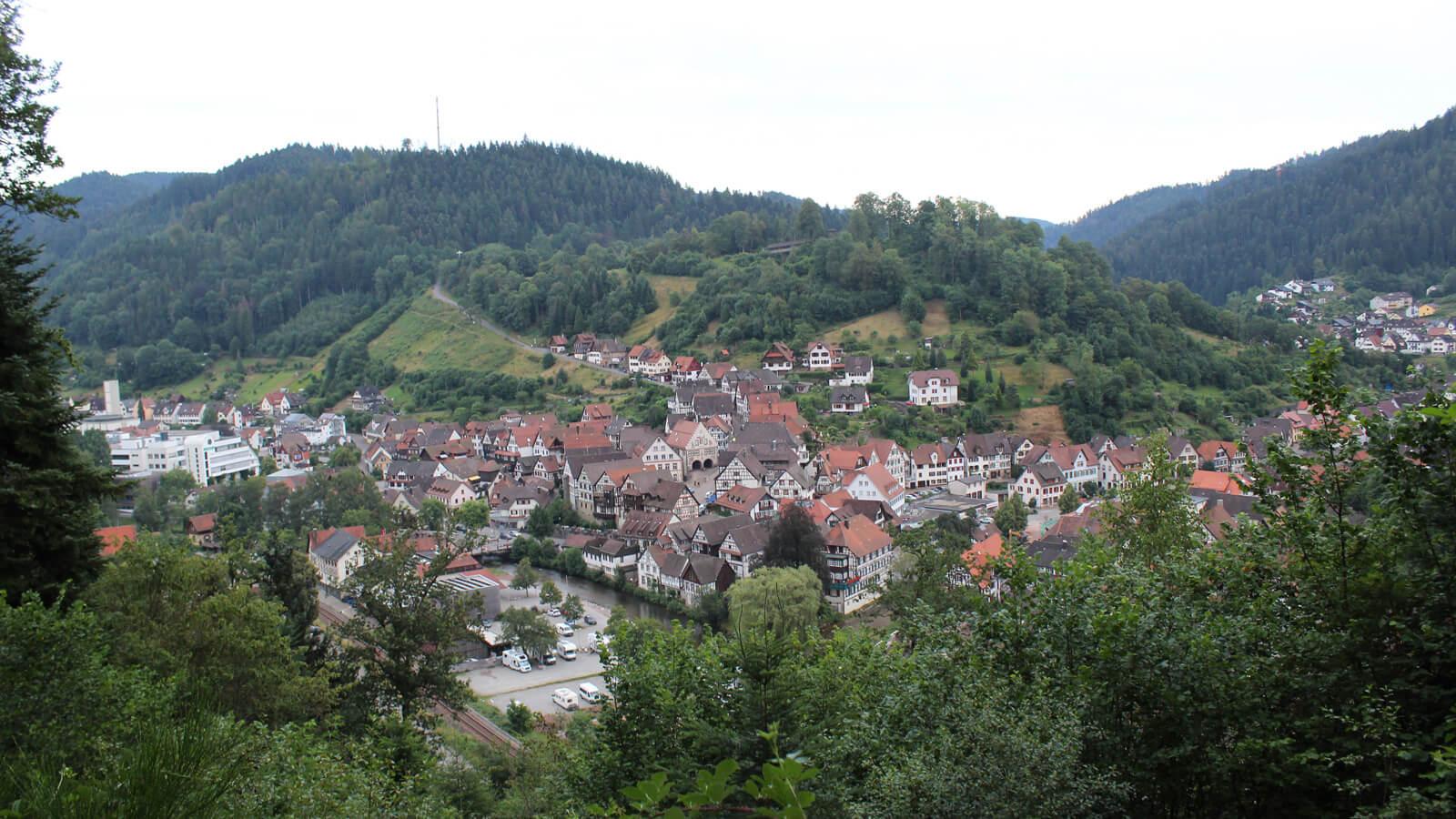 Stadtansicht Schiltach 2016. Foto: LEV MS