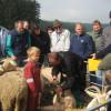 Workshop Gesunde Schaf und Ziegenherden Betrieb Lehmann Rötenberg 2011. Foto: LEV MS