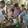Kochen mit regionalen Produkten Gasthof Rössle Seedorf 2011. Foto: LEV MS
