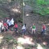 IBG-Camp 2012 Freilegung Fledermausstollen