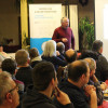 Infoabend Ziegenmilcherzeugung/Monte Ziego - Stallbauberater Herbert Pohlmann referiert über Stall(um)baulösungen. Foto: LEV MS