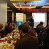 Infoabend Ziegenmilcherzeugung/Monte Ziego - Inhaber Martin Buhl im Dialog mit interessierten Landwirten. Foto: LEV MS