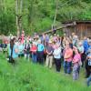 Wiesenexkursion am 23. Mai in Schenkenzell - Begrüßung durch die LEV's. Foto: LEV MS