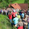Großer Andrang bei der Wiesenexkursion in Schenkenzell. Foto: LEV MS