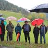 Besuch Minister Hauk am 6. Oktober - im Hintergrund neue Ausbringtechnik. Foto: LEV MS