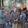 Besuch Minister Hauk am 6. Oktober - auch die Schwarzwildproblematik wird diskutiert. Foto: LEV MS