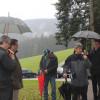 Besuch Minister Hauk am 6. Oktober - die Landwirtschaftsämter sollen für ihre Region die Sperrzeiten anpassen können. Foto: LEV MS