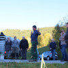 Herdenschutz in der Praxis am 11. Oktober - es wurden die sechs im Projekt getesten Netze vorgestellt. Foto: LEV MS