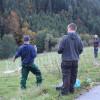 Herdenschutz in der Praxis am 11. Oktober - Vor- und Nachteile werden diskutiert. Foto: LEV MS