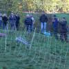 Herdenschutz in der Praxis am 11. Oktober - auch ein Litzensystem mit 5 Litzen wurde während der Projektphase getestet...Foto: LEV MS