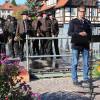 """Staatssekretär Dr. Andre Baumann (Umweltministerium) hebt die Stellung Baden-Württembergs als """"das Wiesenland Europas"""" hervor. Foto: LEV MS"""