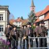 Feierlich umrahmt wurde die Veranstaltung durch Musikstücke der Kaibachbläser von der Kreisjägervereinigung Rottweil. Foto: LEV MS