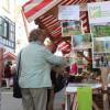 Der Stand des LEV Mittlerer Schwarzwald beim Bauernmarkt war stets gut besucht. Foto: LEV MS