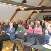 Zahlreiche Besucher kamen zum Vortragsabend in den Farrenstall nach Dornhan. Foto: LEV MS
