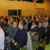 Die Josef-Merz-Halle war bis auf den letzten Platz gefüllt. Foto: LEV MS