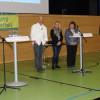 Katharina Baudis, Regionalgeschäftsführerin des BUND Regionalverbands Schwarzwald-Baar-Heuberg, vermittelte die Position des BUND. Foto: LEV MS
